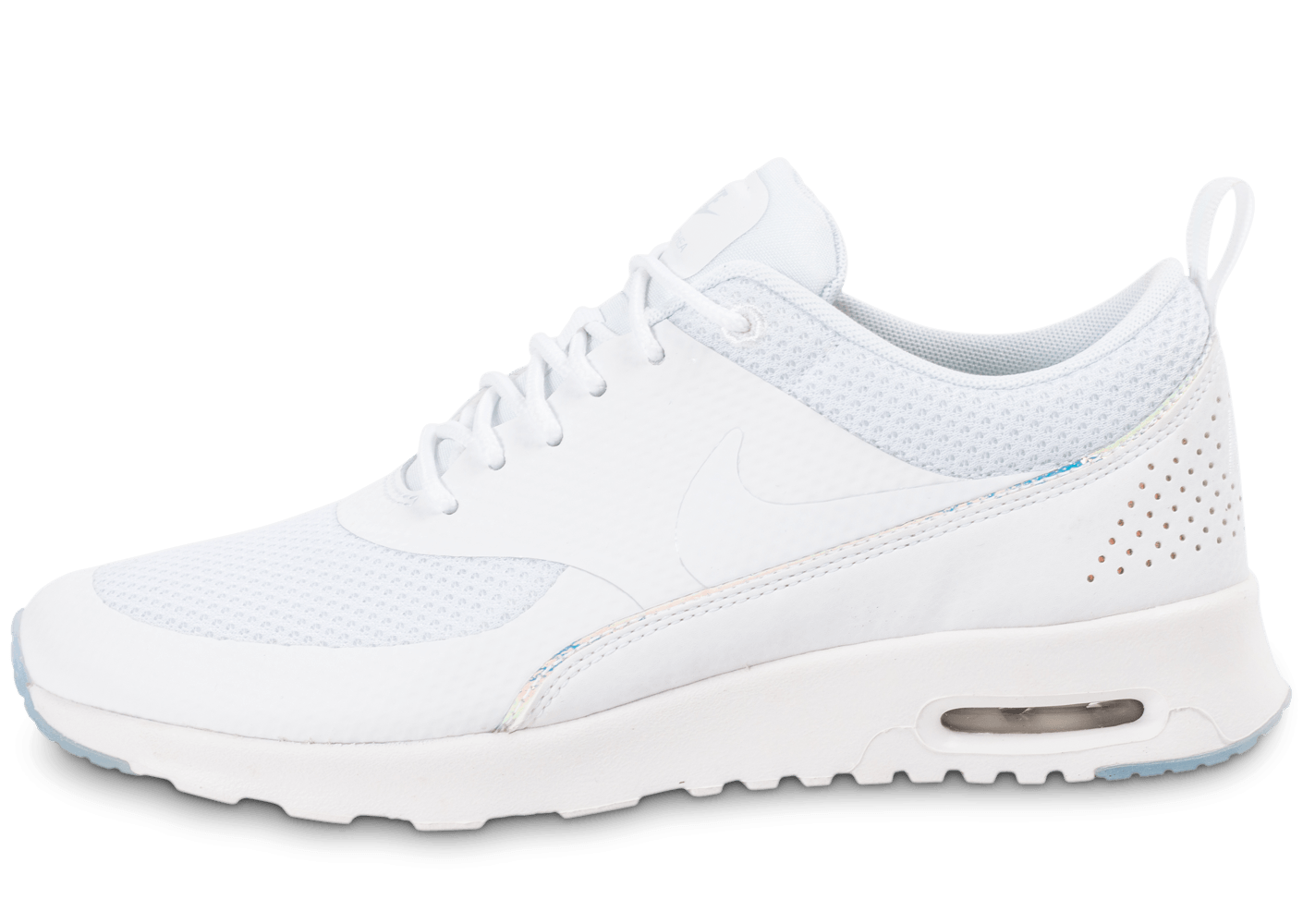 timeless design 8b5c3 54fdc Nike Air Max Thea PRM blanche iridescente - Chaussures Baskets femme -  Chausport