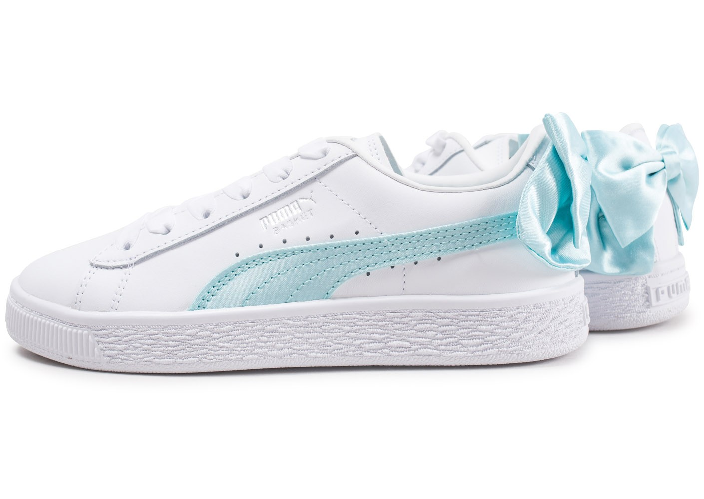 chaussure puma fille blanche