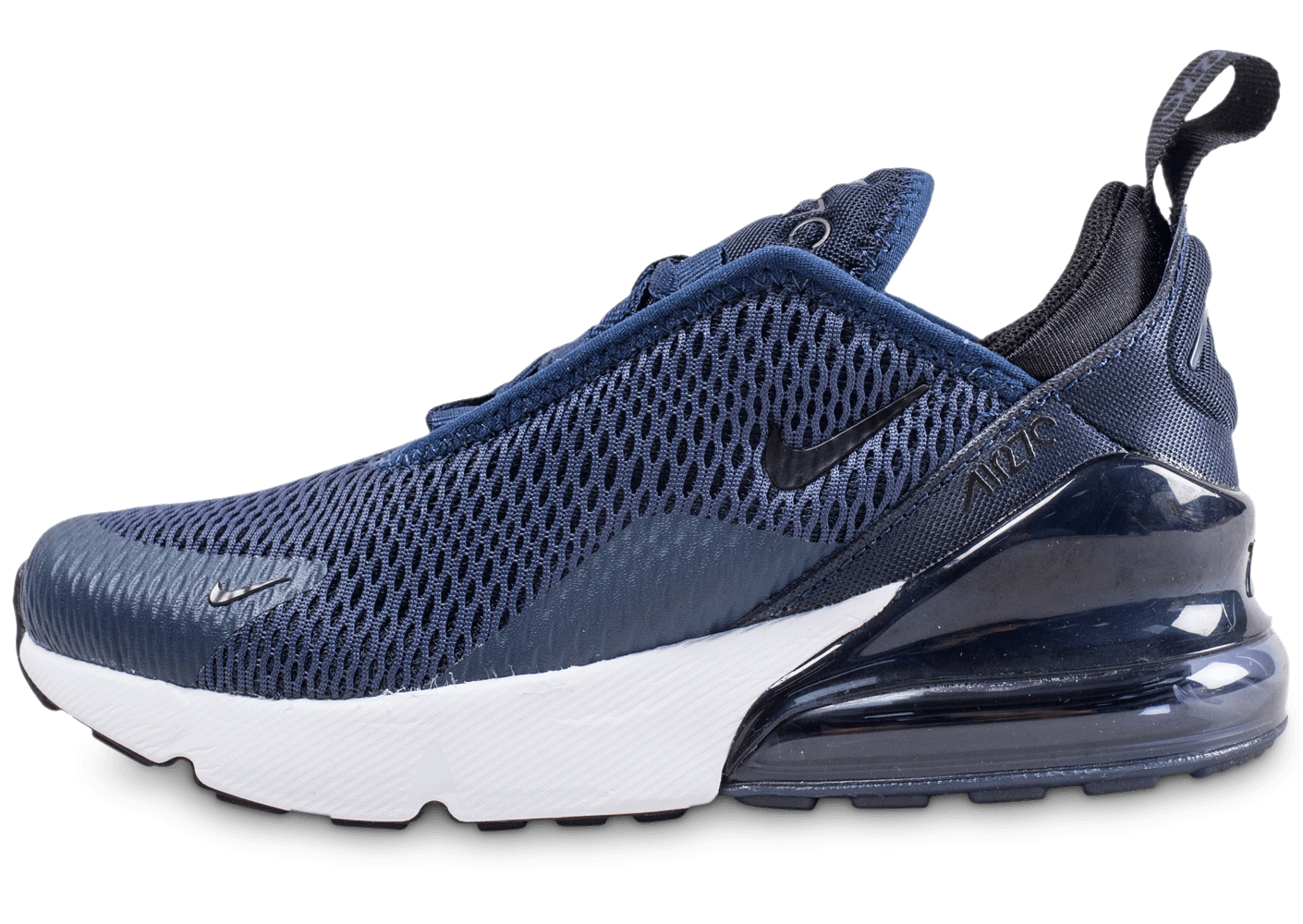 plus de photos 93d25 15d3b Nike Air Max 270 enfant bleu marine