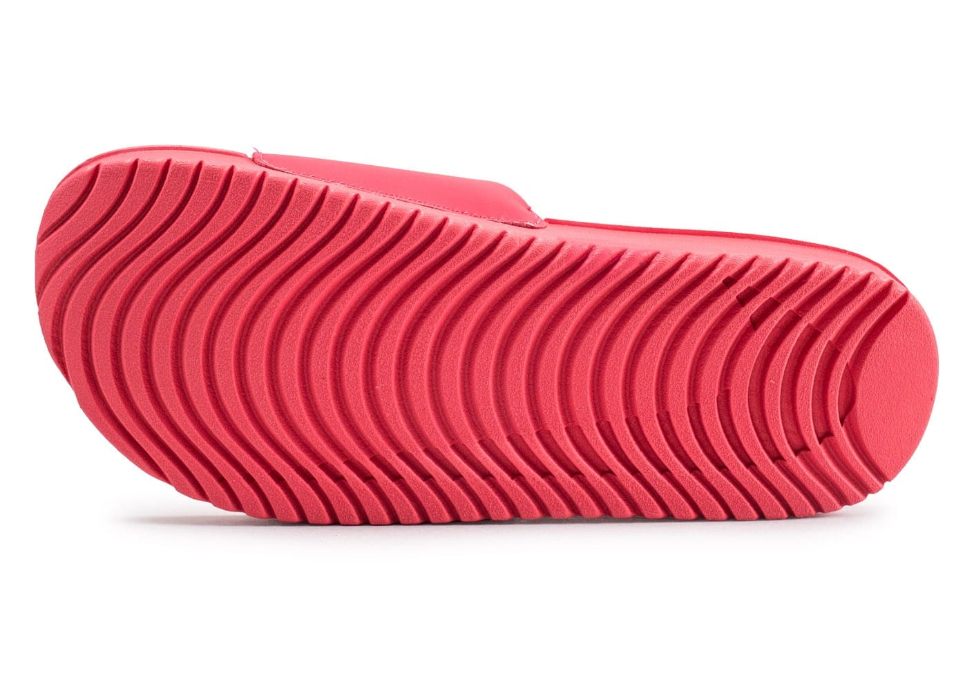 best sneakers 4fc0a 80a77 ... Chaussures Nike Kawa Slide 2 junior rose vue avant ...