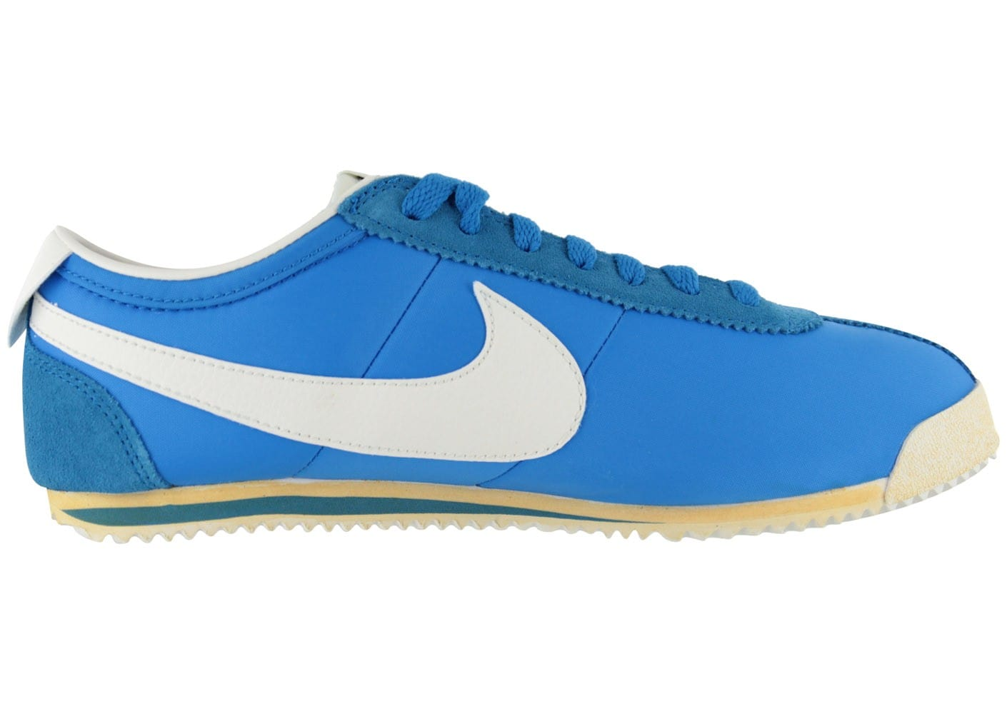 crazy price first look cost charm Nike Cortez Classic Vintage Bleue - Chaussures Baskets homme ...
