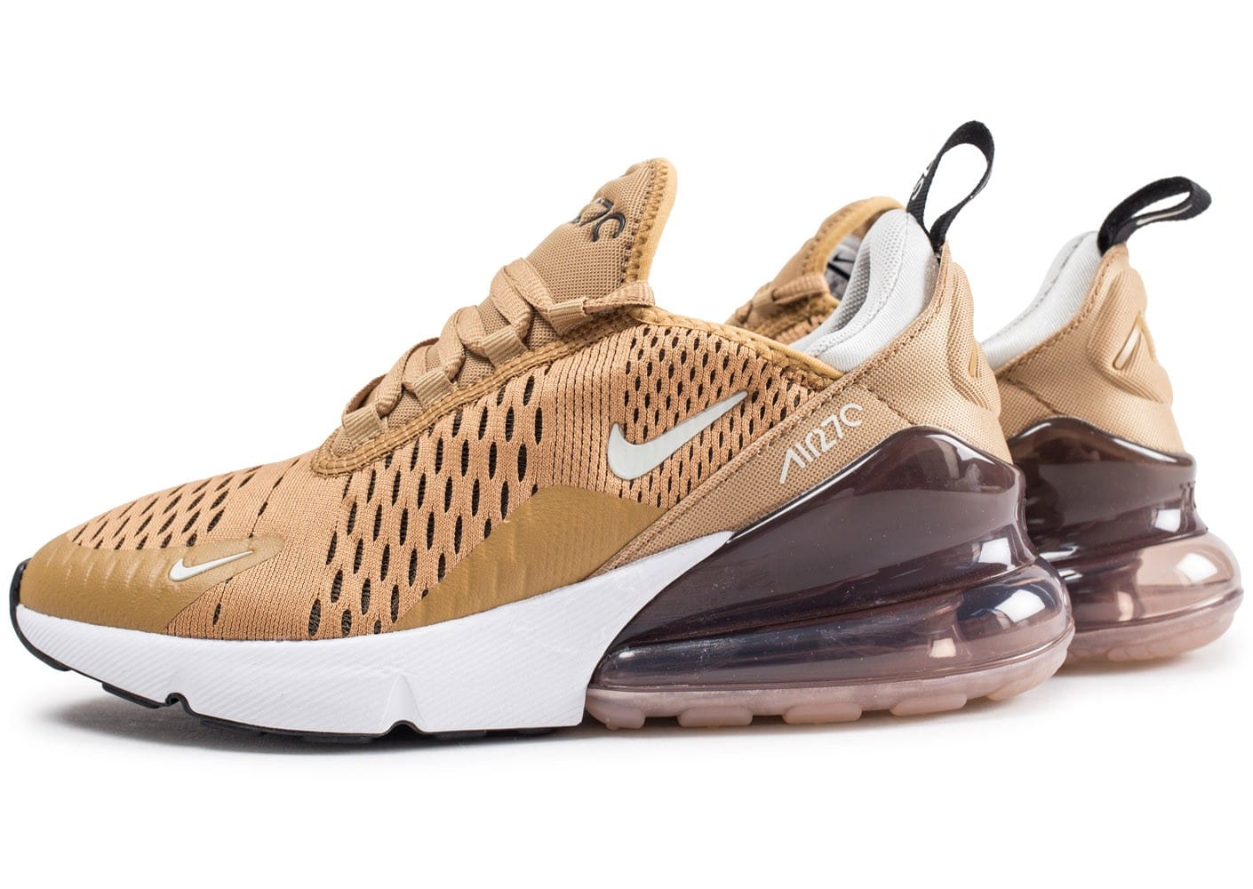 Nike Air Max 270 Elemental Gold junior Chaussures Baskets