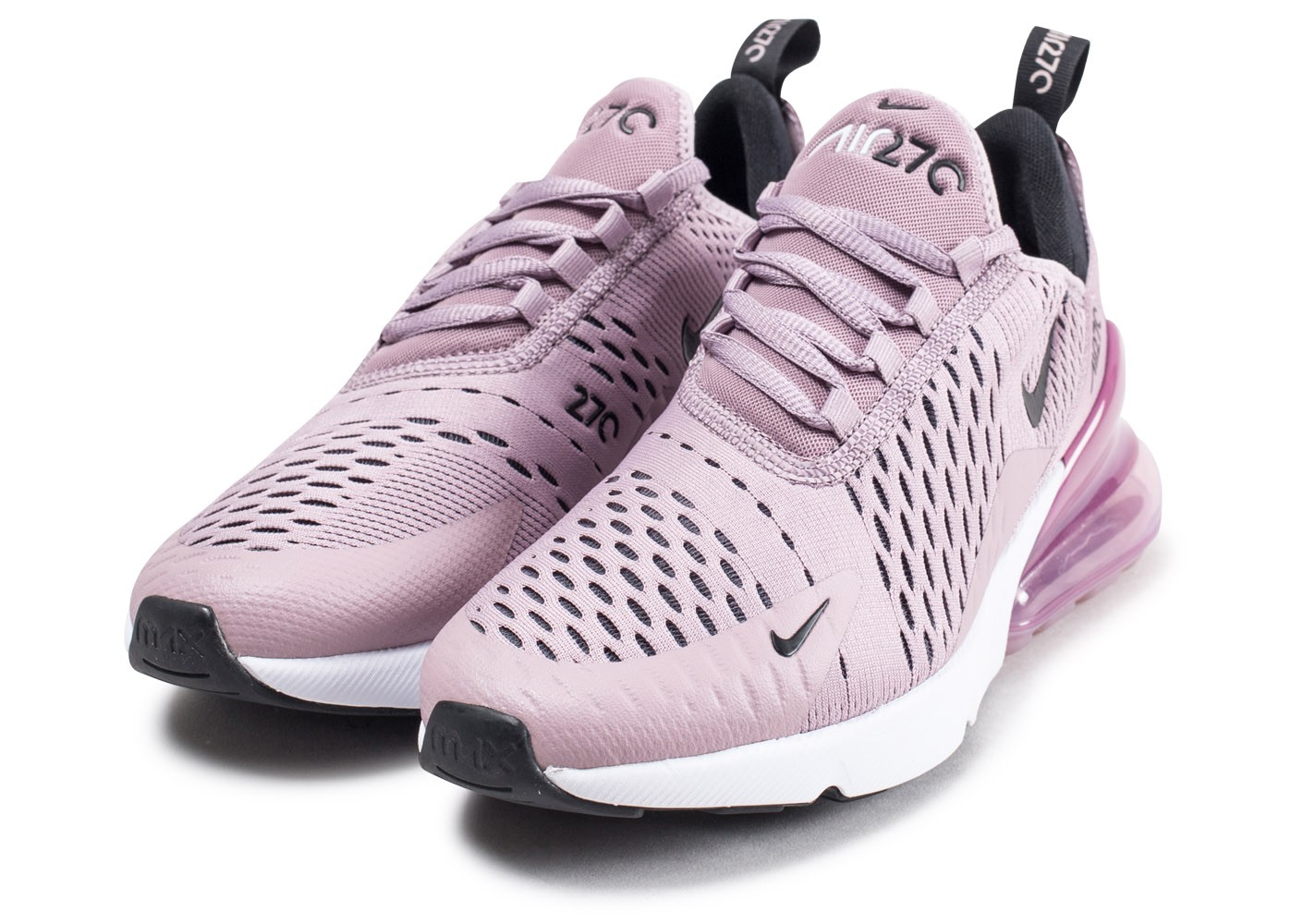on sale 5749a e2b9f ... Chaussures Nike Air Max 270 Elemental Rose vue intérieure ...