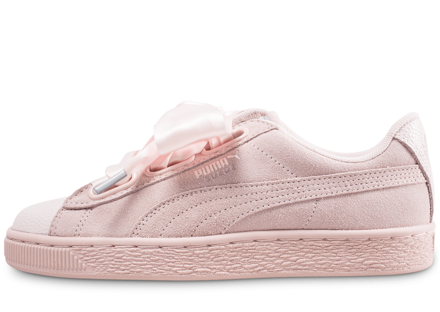 buy online 942a7 9a427 Puma Suede Heart Bubble rose