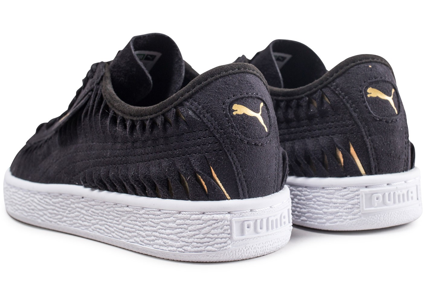 official photos f3d8b 7532f Puma Suede Entwine noire - Chaussures Chaussures - Chausport