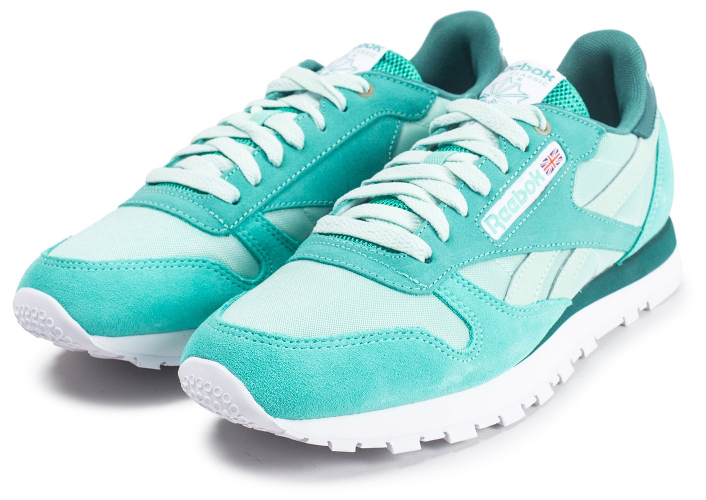 Chaussures Verte Classic Color Leather Reebok Cans Montana System ZP8zWqHw