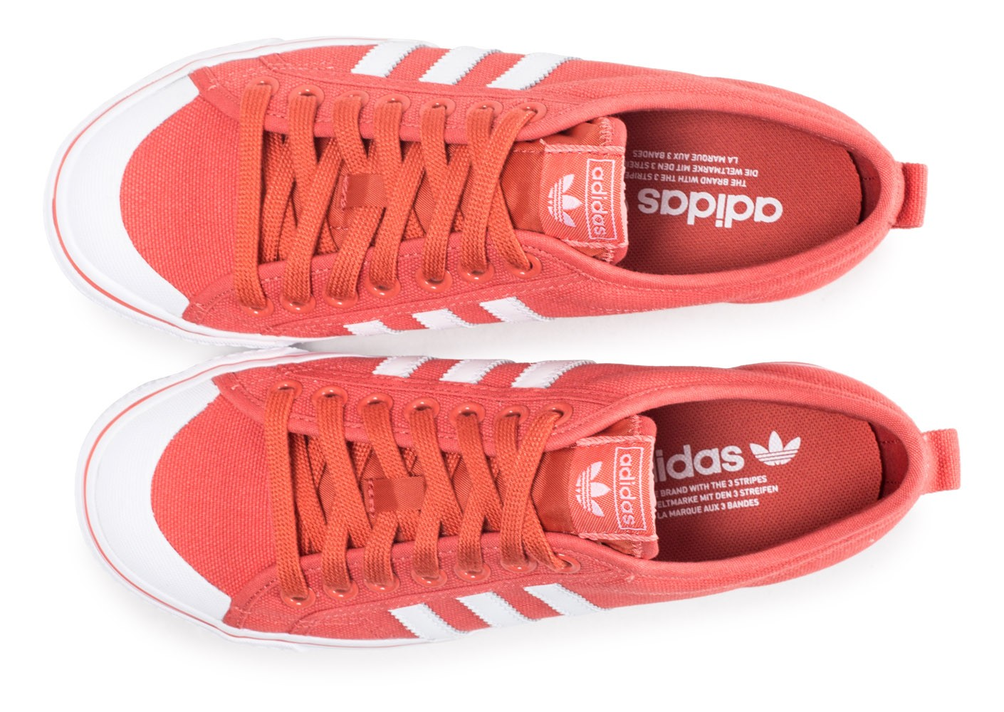 official site nice cheap competitive price adidas Nizza rouge - Chaussures Baskets homme - Chausport