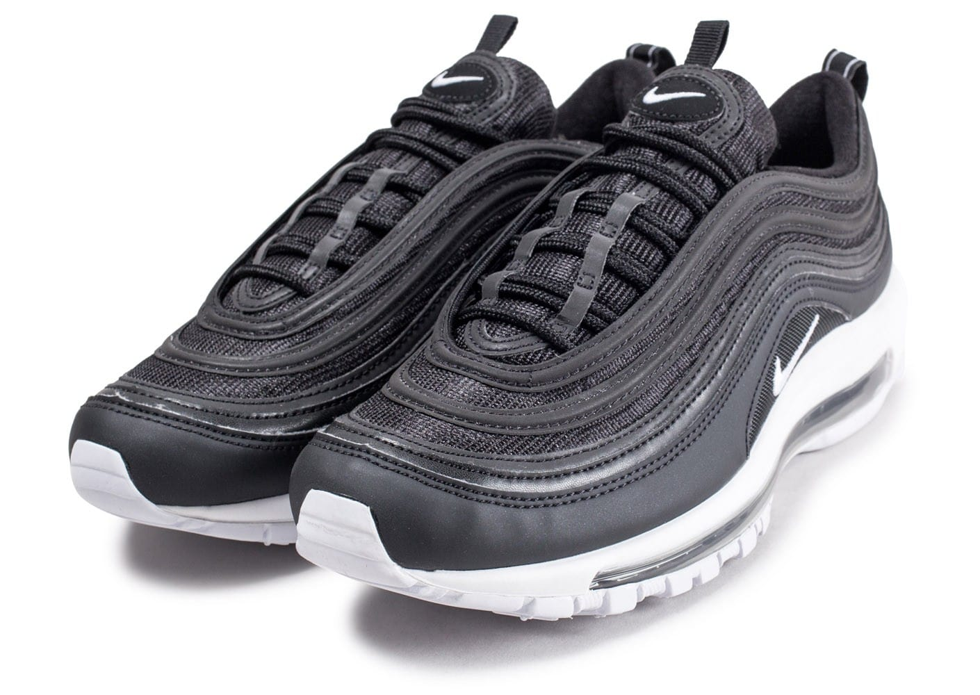 Nike Air Max 97 noire et blanche Chaussures Baskets homme
