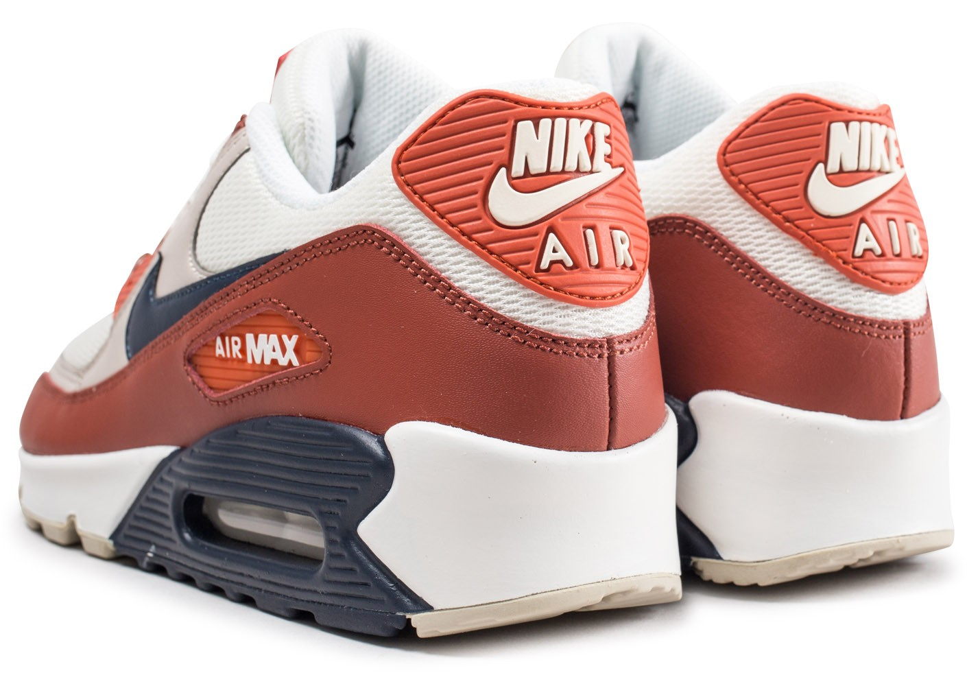 sale retailer f7533 26121 Nike Air Max 90 Essential Mars Stone - Chaussures Baskets ...