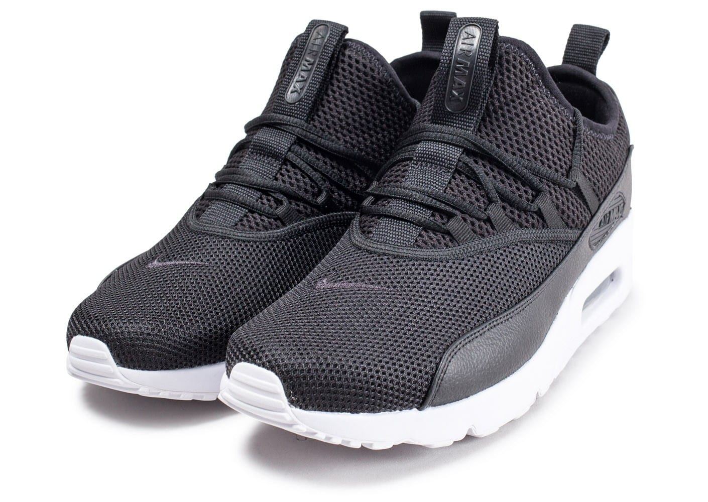 sports shoes 350aa 8aa8f ... Chaussures Nike Air Max 90 EZ noire vue intérieure ...