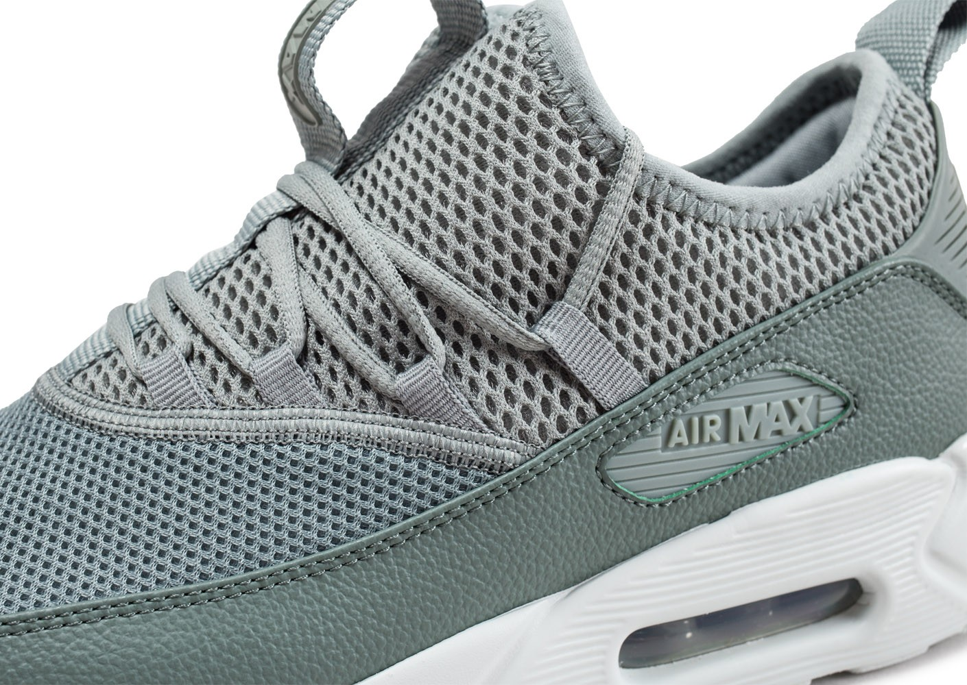 low priced 1473f 5aa57 ... Chaussures Nike Air Max 90 EZ verte vue dessus