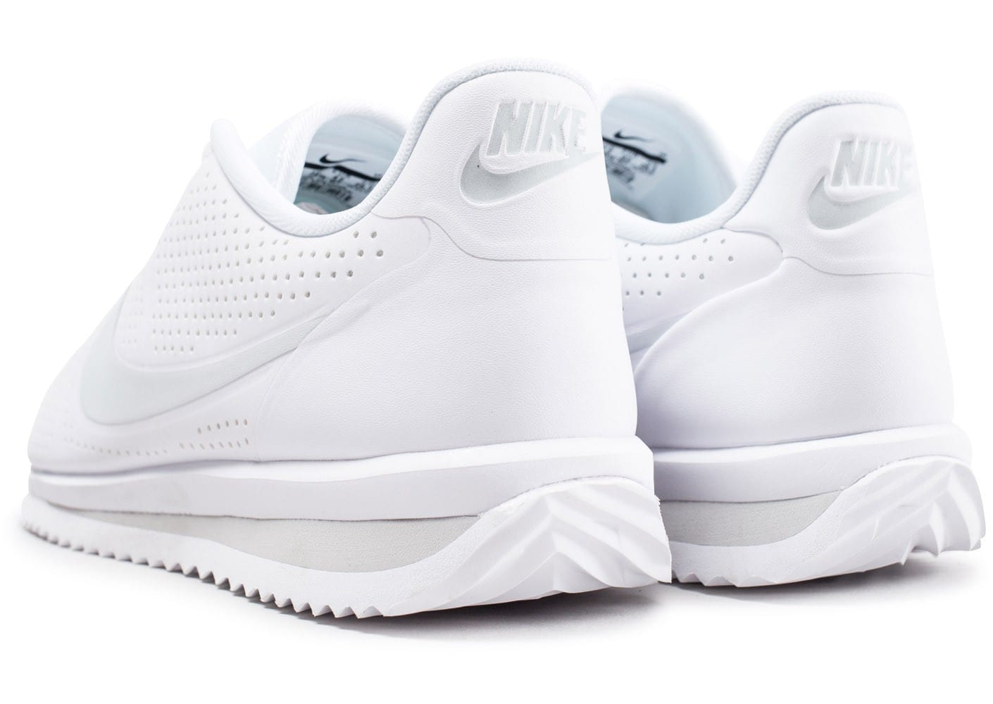 pretty nice 7770b 92f8a ... Chaussures Nike Cortez Ultra Moire blanche vue dessous ...