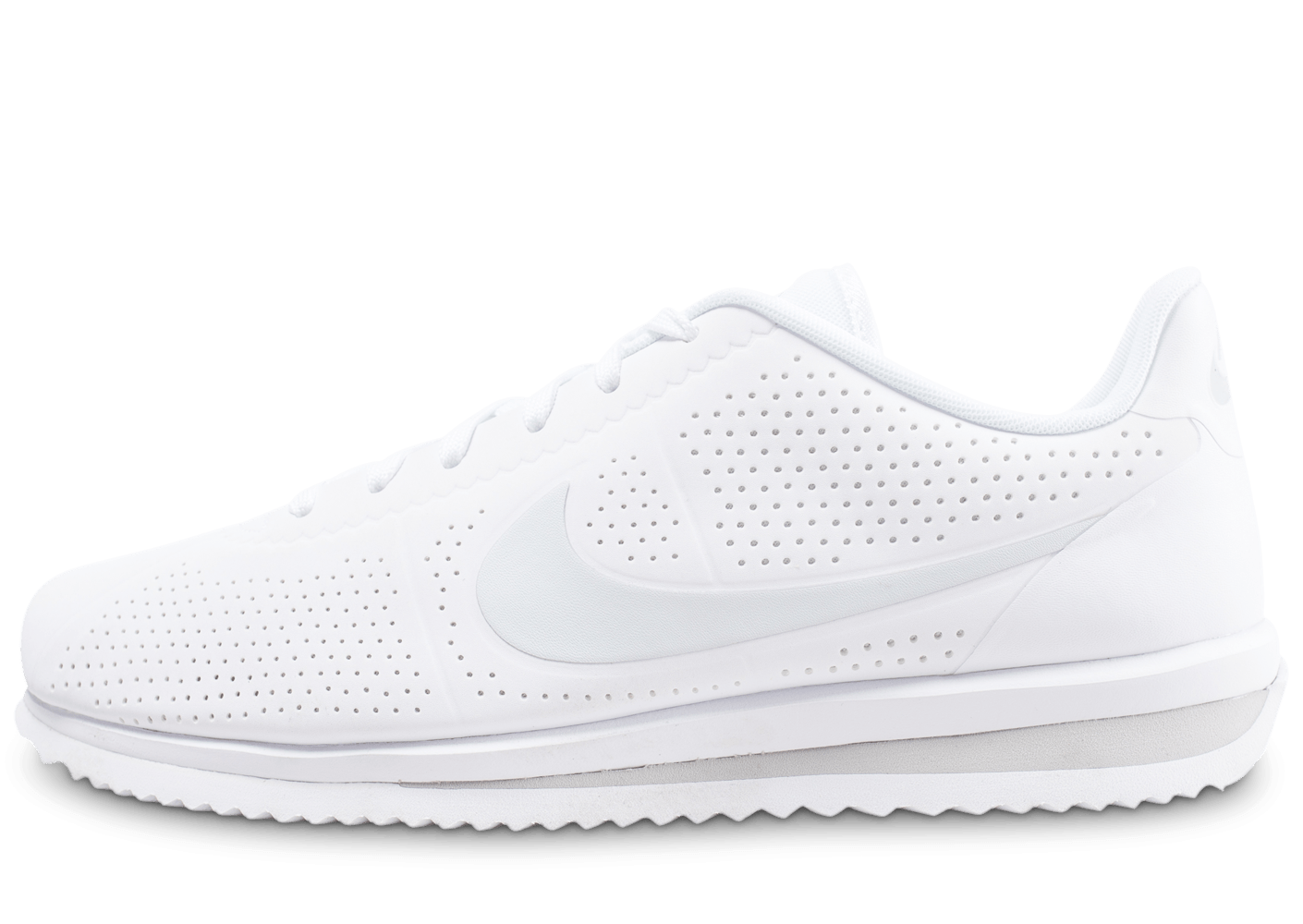 1ed846ad2ae Nike Cortez Ultra Moire blanche - Chaussures Baskets homme - Chausport