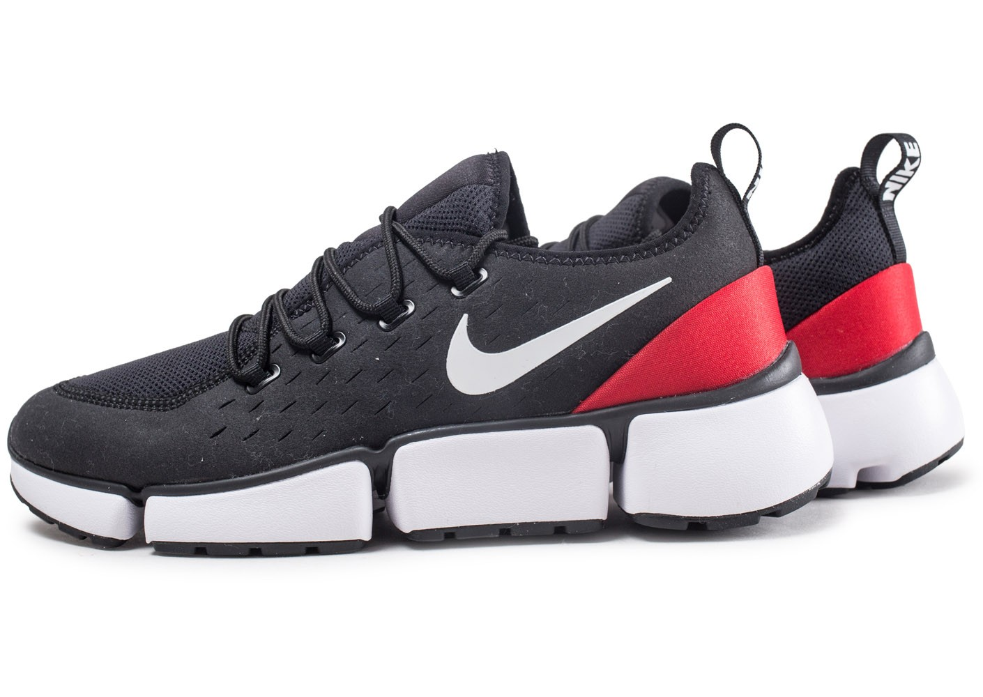 Nike Pocket Fly DM Noire Chaussures Baskets homme Chausport