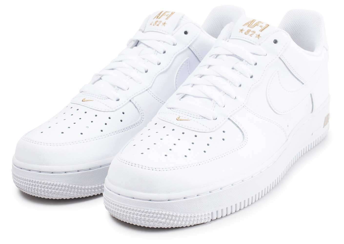 Nouveaux produits 26337 591a2 new zealand nike air force 1 low blanc or 31881 691da