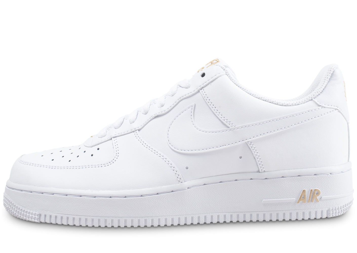 best sneakers ed42b 381d1 ... coupon code for nike air force 1 07 low blanche et or chaussures  baskets homme chausport