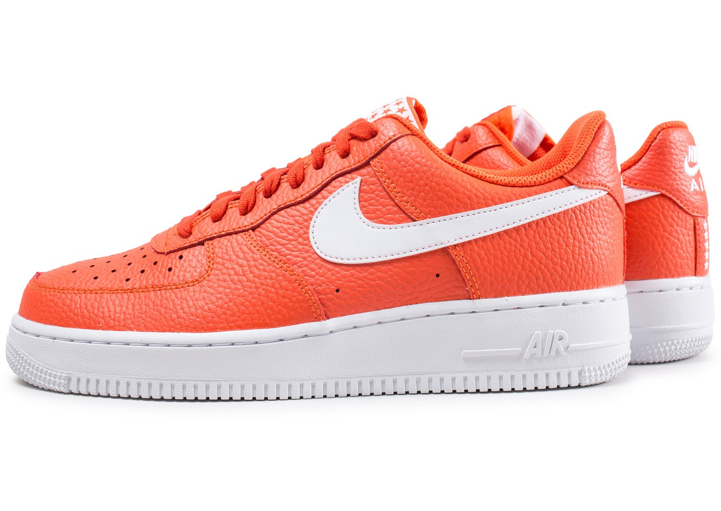 Nike Air Force 1 Low orange Chaussures Baskets homme