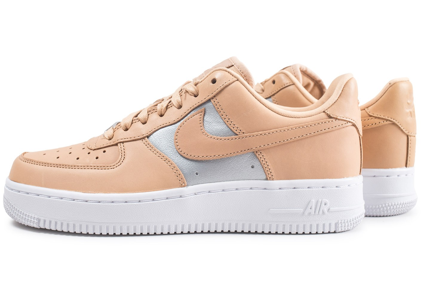 air force one femme blanche et argent