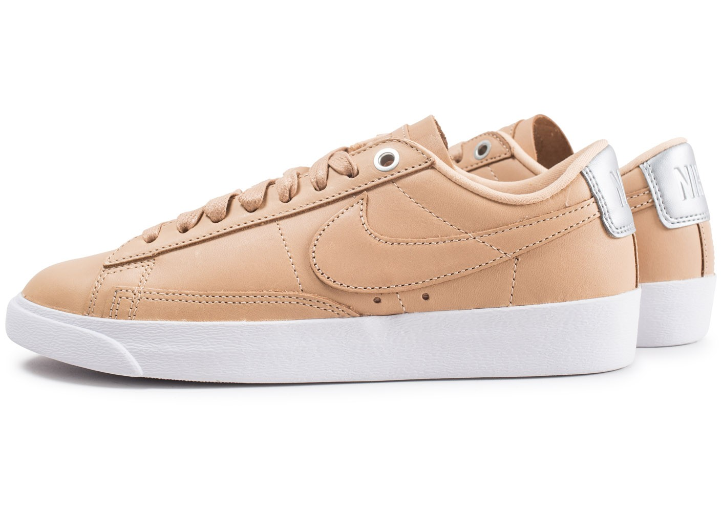 better wholesale catch Nike Blazer Low Premium femme beige - Chaussures Chaussures ...