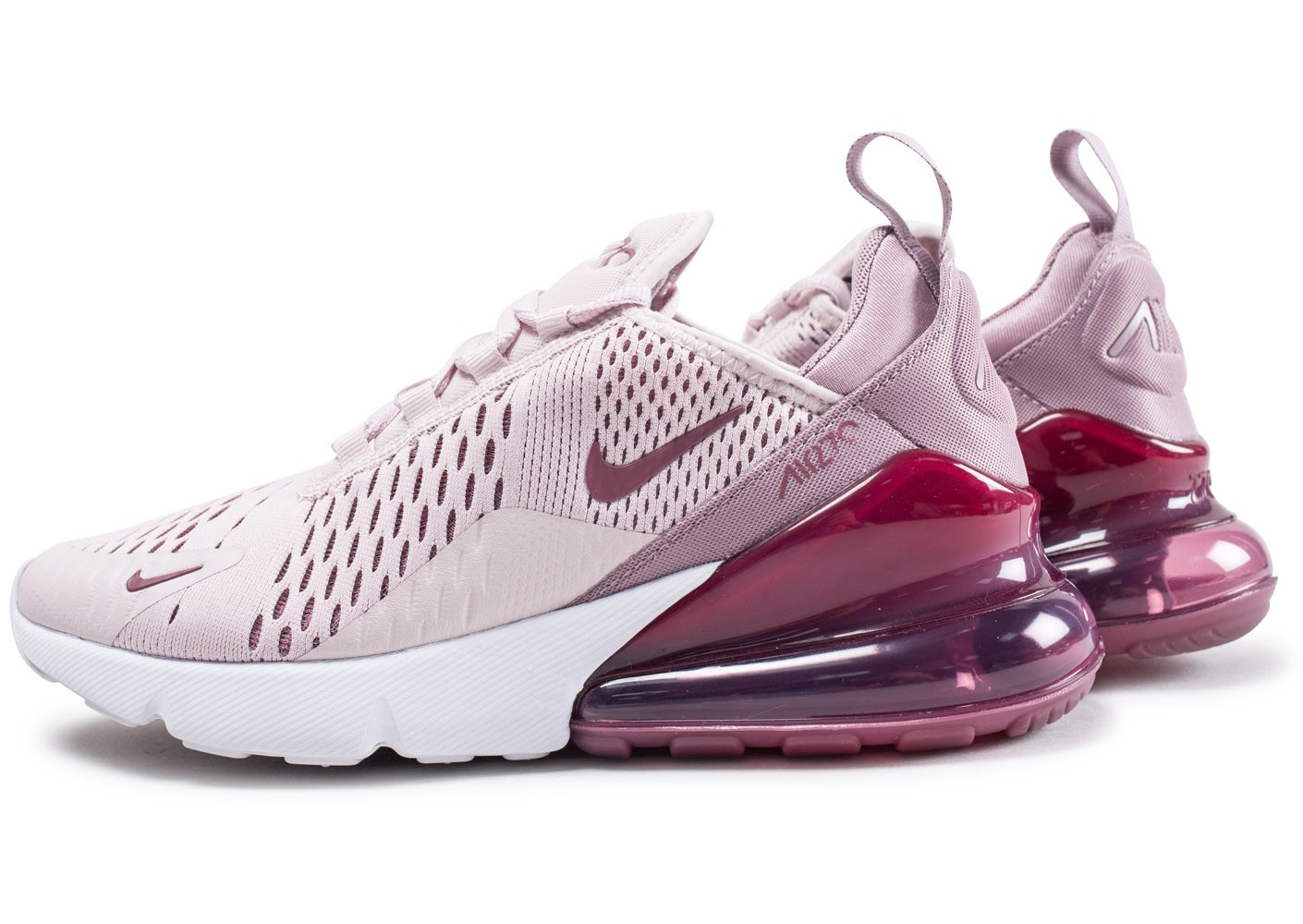 nike air max 270 rose chaussures baskets femme chausport. Black Bedroom Furniture Sets. Home Design Ideas
