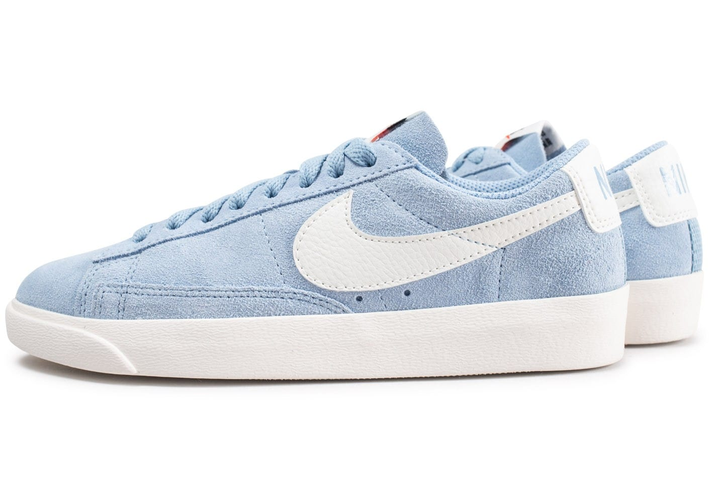 best choice new photos thoughts on Nike Blazer Low bleu et blanche - Chaussures Chaussures ...