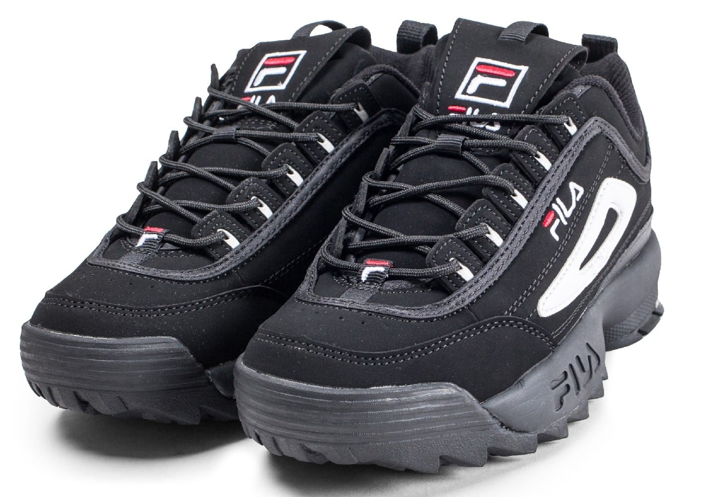 official store sale uk release info on Fila Disruptor II junior noire et blanche - Chaussures ...