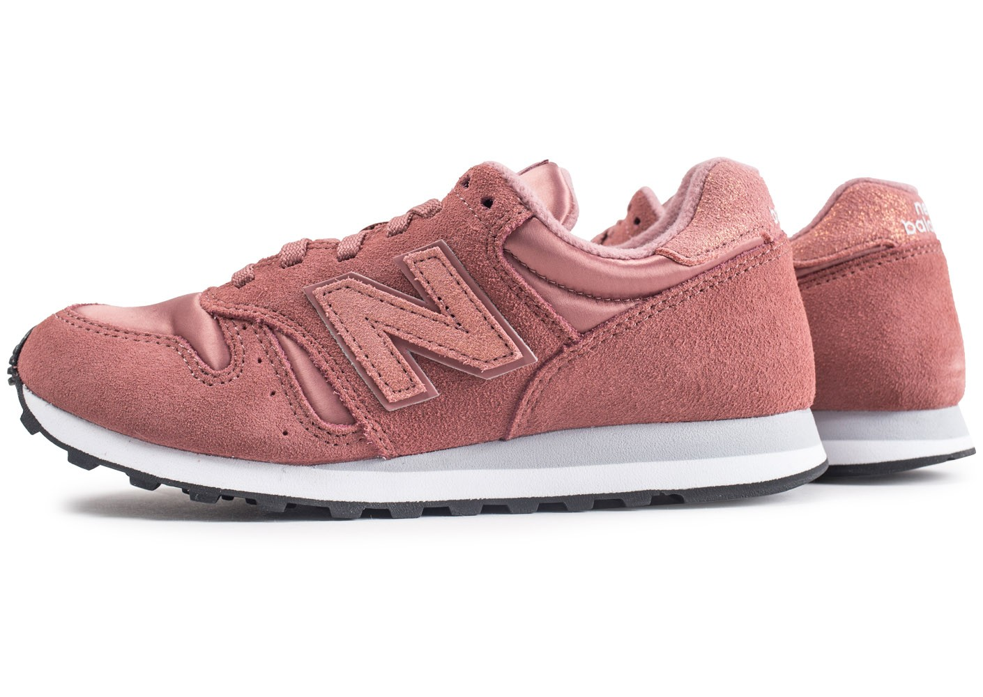 basket new balance homme rose
