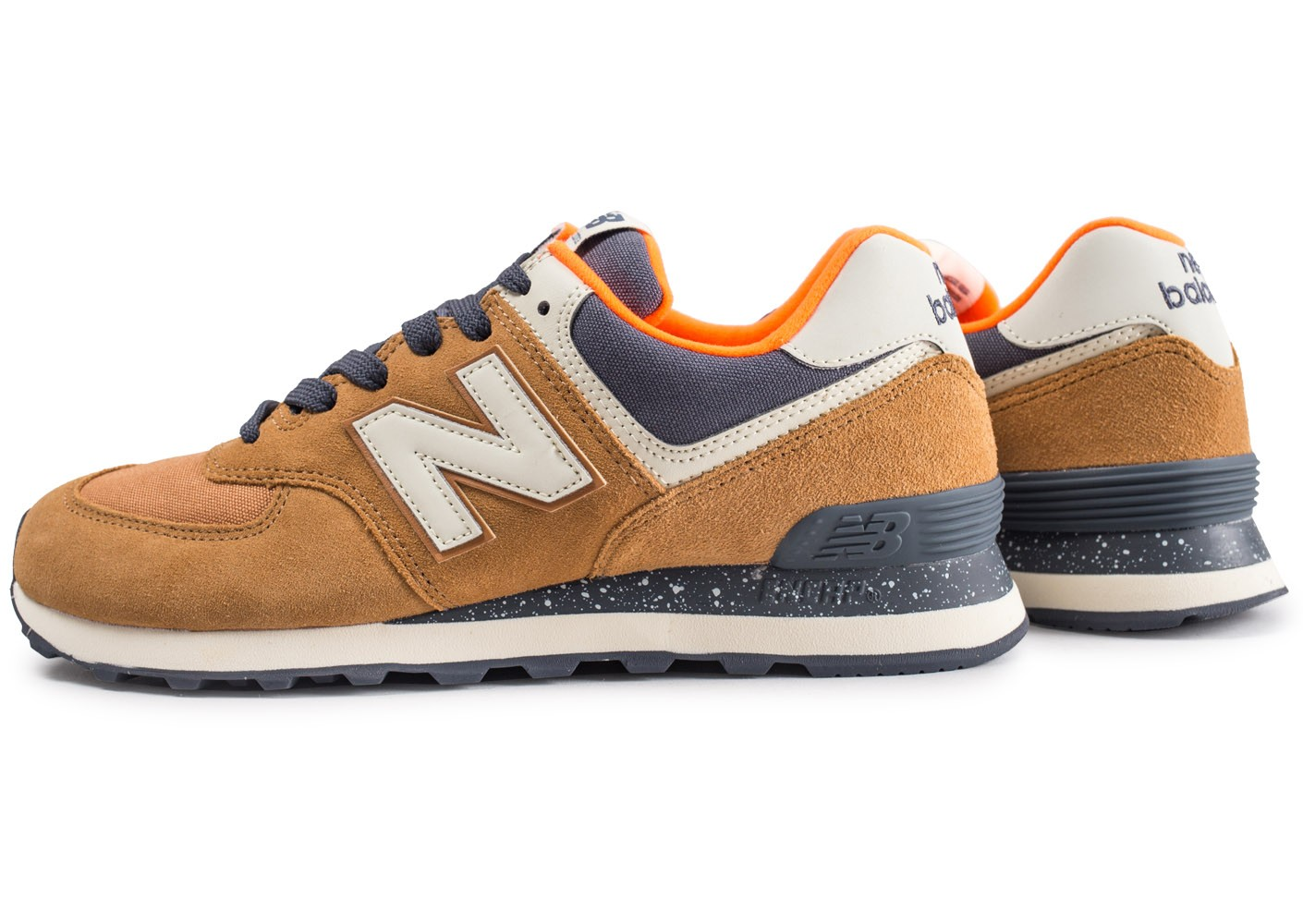 new balance marron homme
