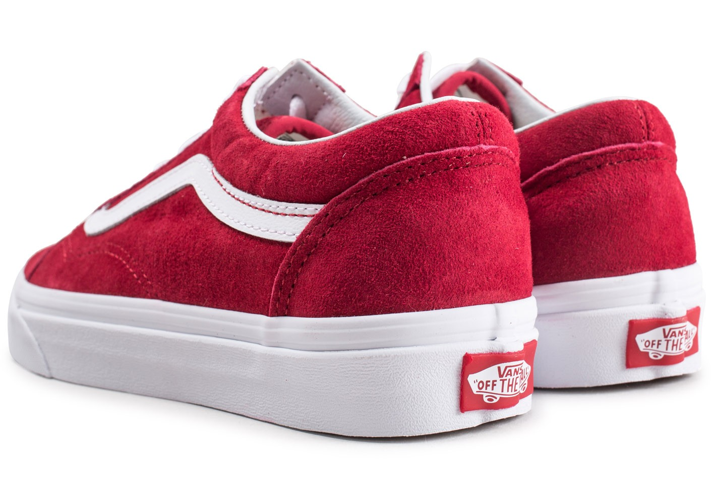 vans old skool rouge 40