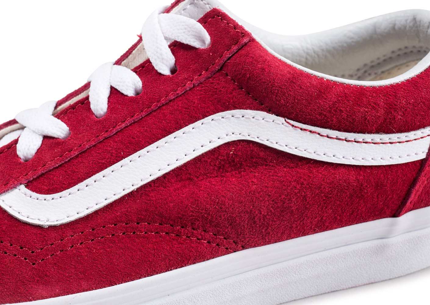 vans old skool rouge montante
