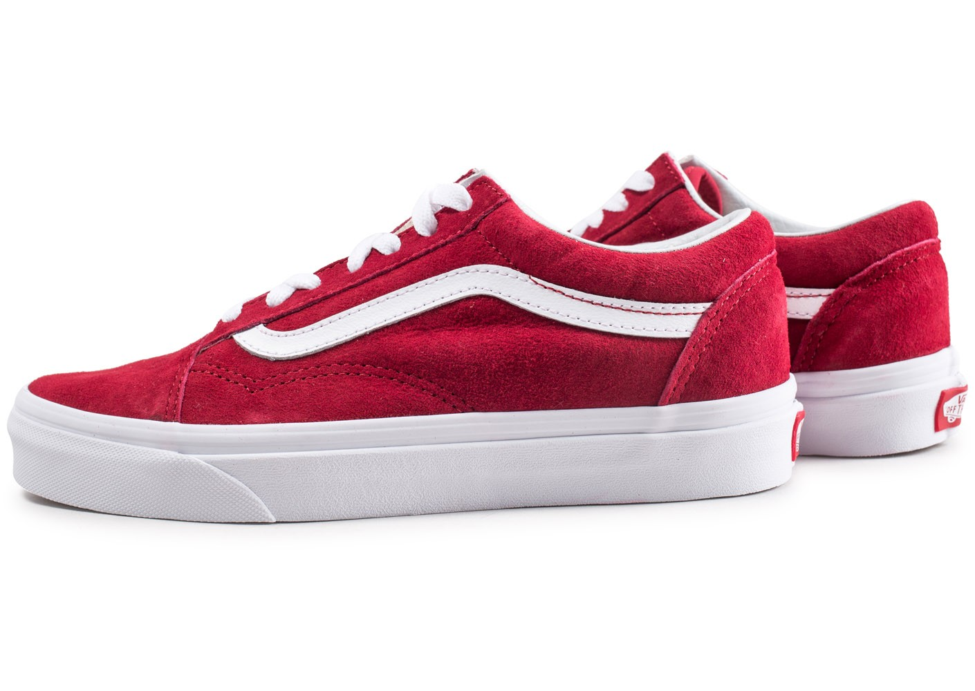 vans old school rouge