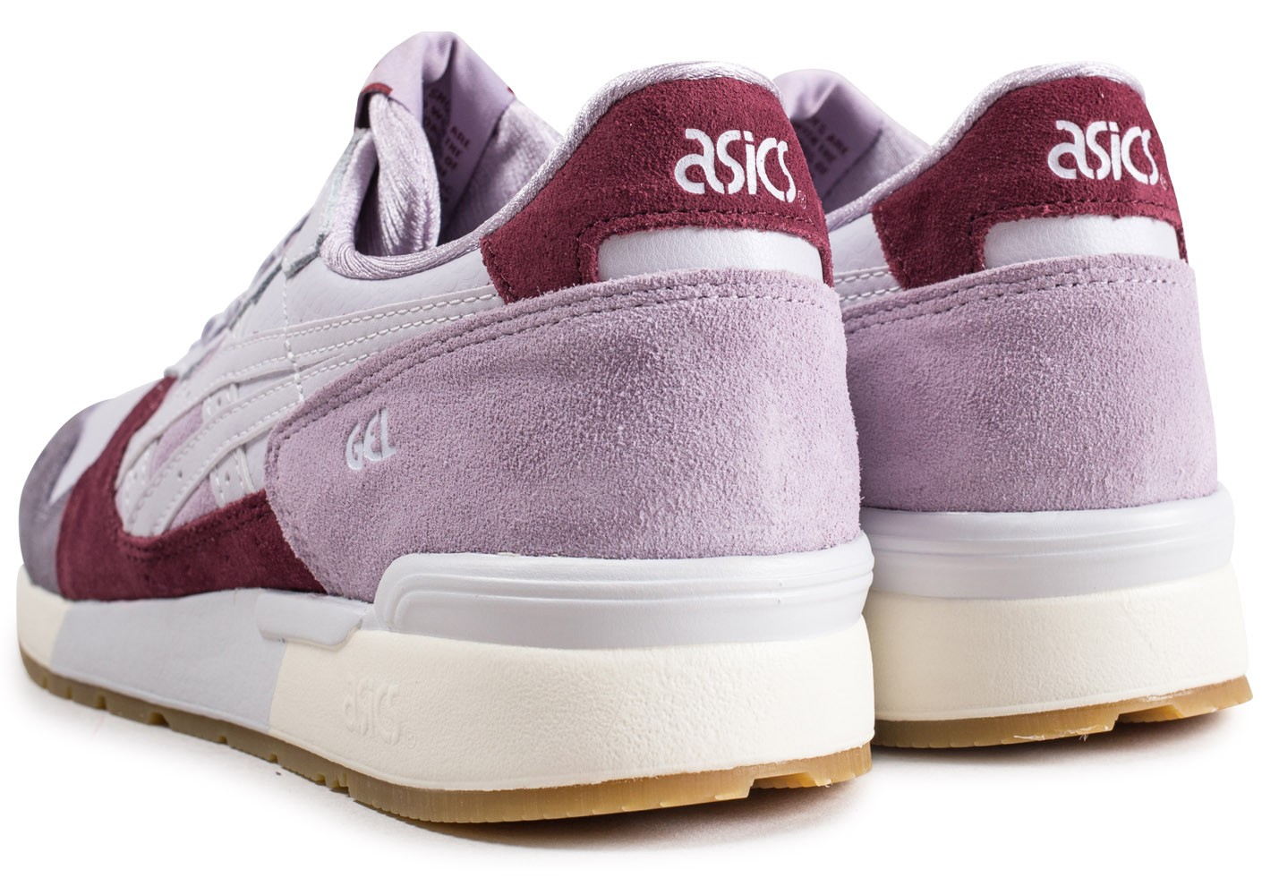 sneakers for cheap 0b066 f04eb Chaussures Chausport Baskets Lavande Asics Lyte Femme Gel 1awIaYq0