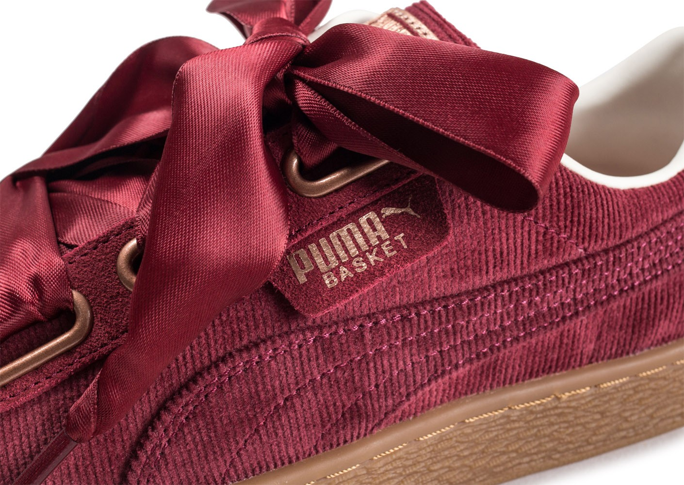 Basket Corduroy Bordeaux Heart Chaussures Black Puma Friday Femme wOPn4B