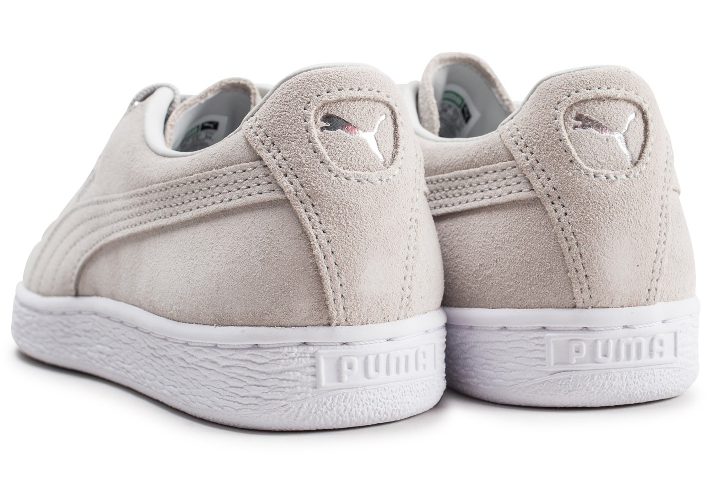 info for ee37f 93be3 Puma Suede Jewel Metallic grise femme - Chaussures Baskets ...