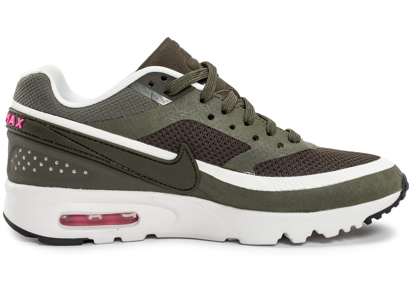 Nike Air Max BW Ultra W Olive Chaussures Baskets femme