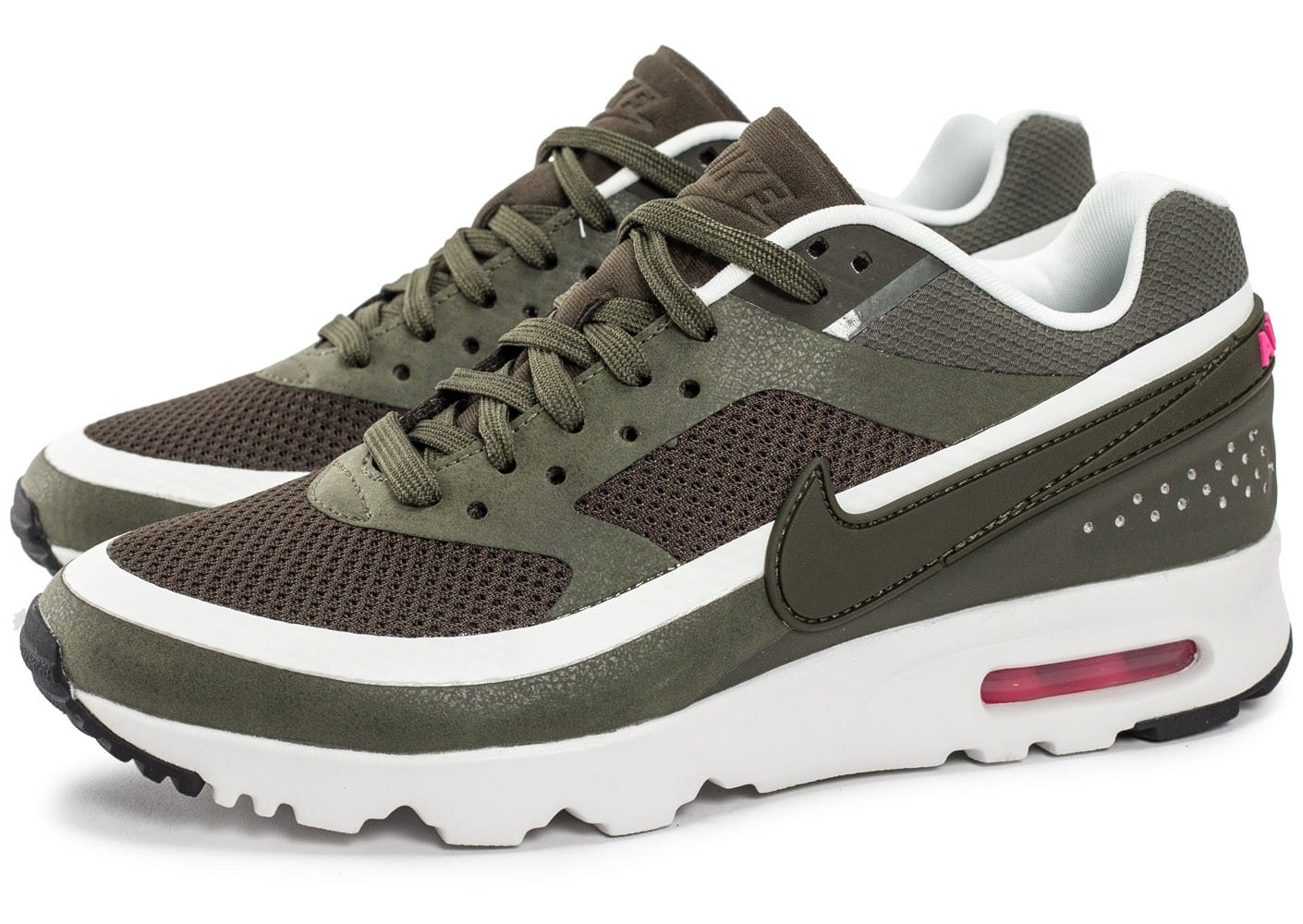 new specials new specials release info on Nike Air Max BW Ultra W Olive - Chaussures Baskets femme - Chausport