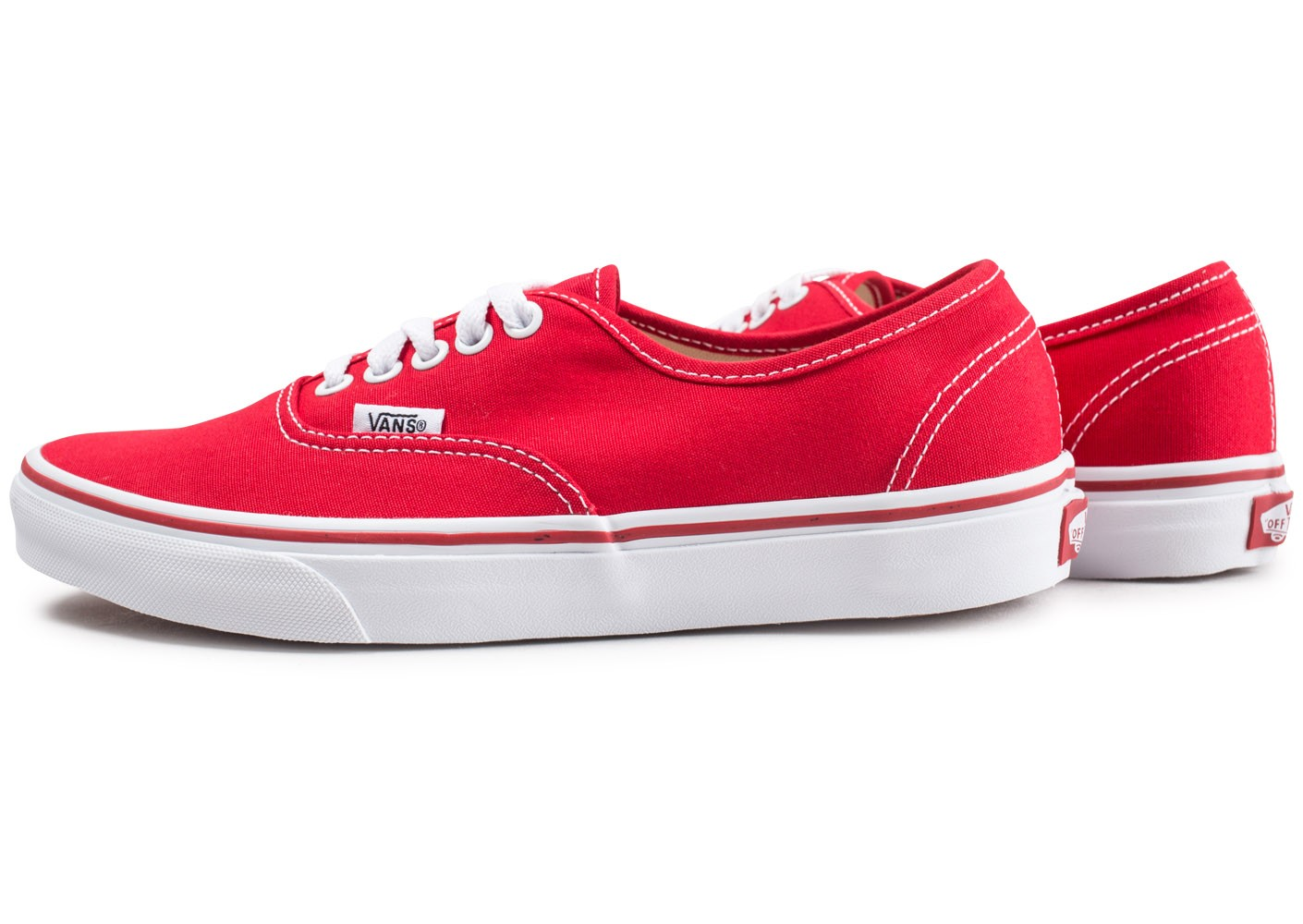 Rouge Chausport At Qwgsg71 Baskets Chaussures Vans Authentic Homme Yyf67gb