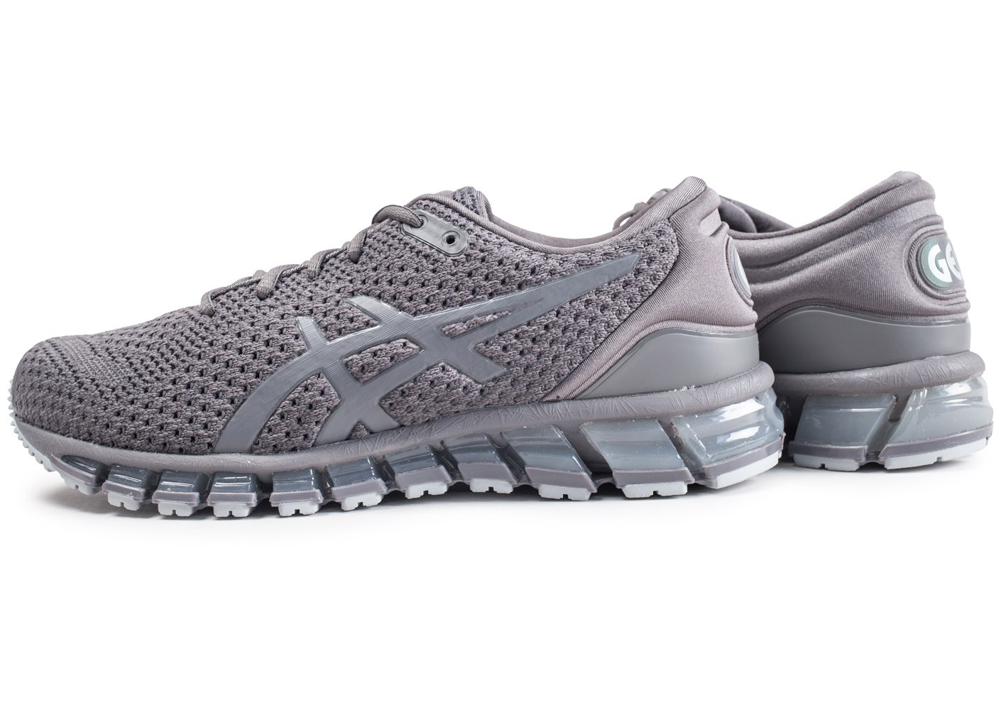 check out 7ba77 e242b Asics Gel Quantum 360 Knit 2 Carbon - Chaussures Baskets ...