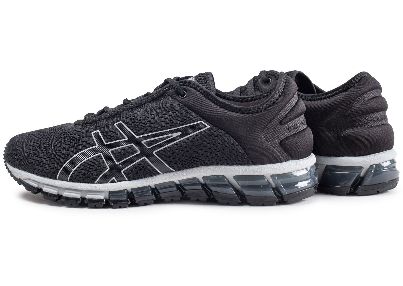 Quantum Chaussures Chausport Homme 180 Gel Asics Noire Baskets 6bfgvyY7