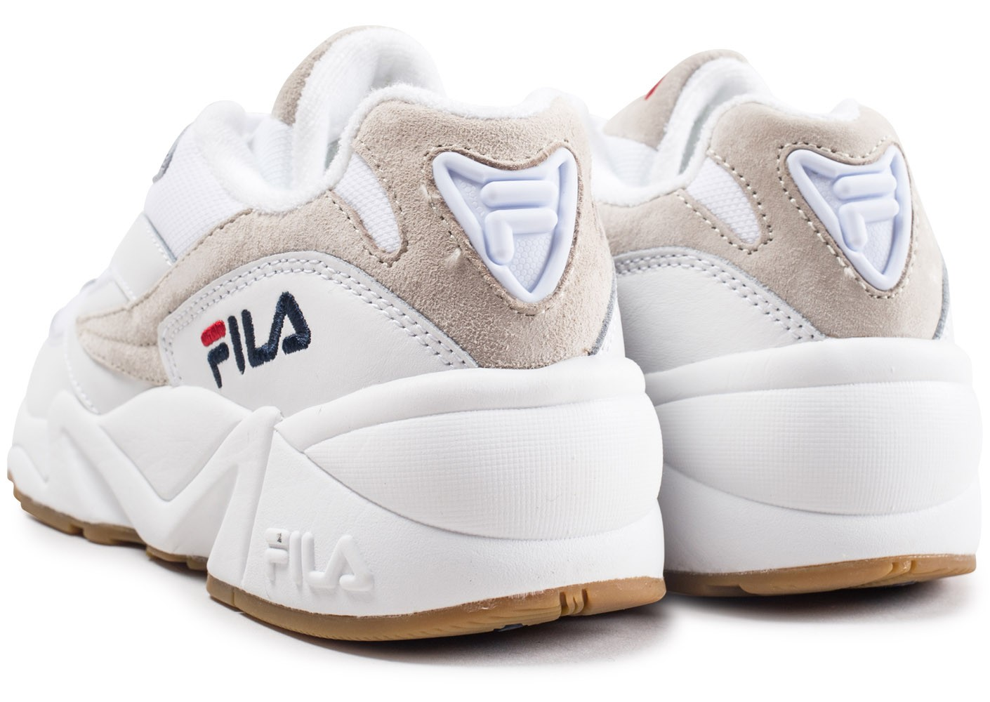 the latest d9a5e adf49 Fila Fila blanche 94 Low Chaussures homme Chausport Baskets EpEqrwxz