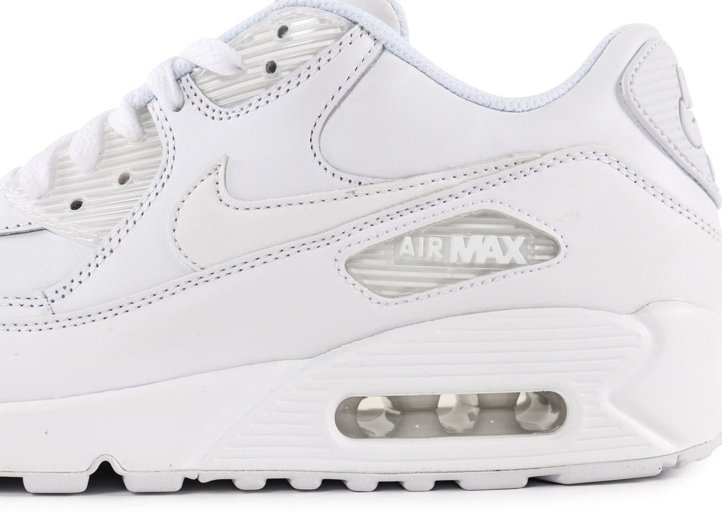nike air max 90 leather blanc