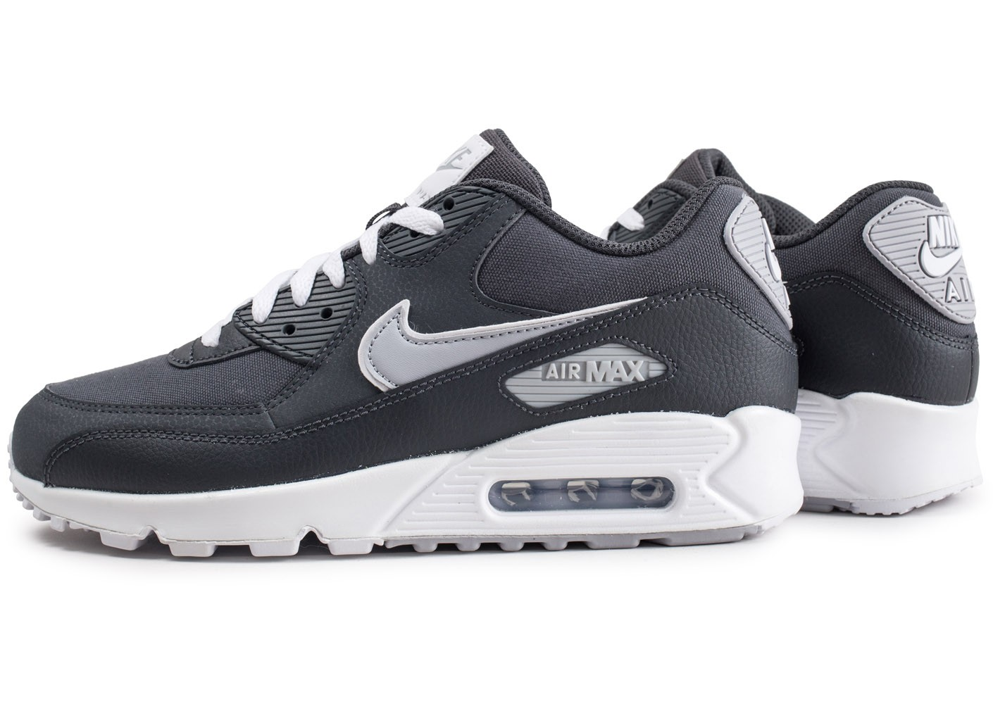 Nike AIR MAX 90 ESSENTIAL Baskets basses wolf greywhite