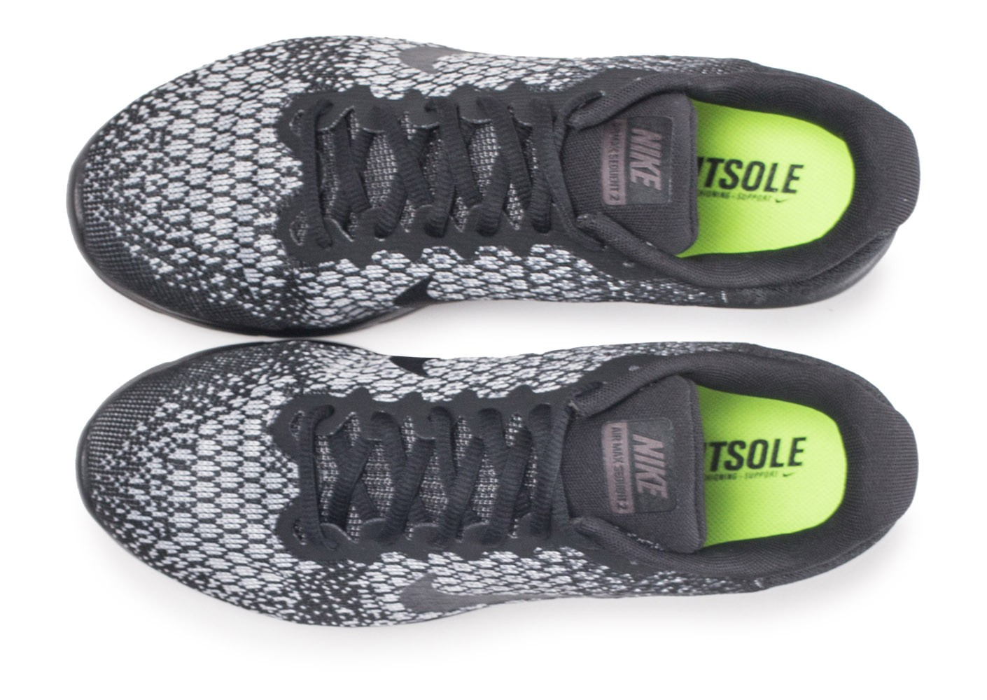 lace up in best sneakers uk store Nike Air Max Sequent 2 noire - Chaussures Baskets homme - Chausport