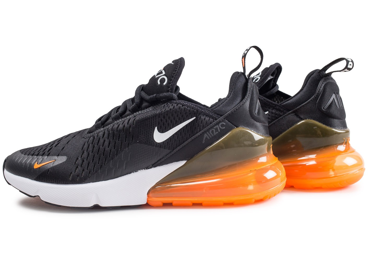 nike air max 270 noir et orange
