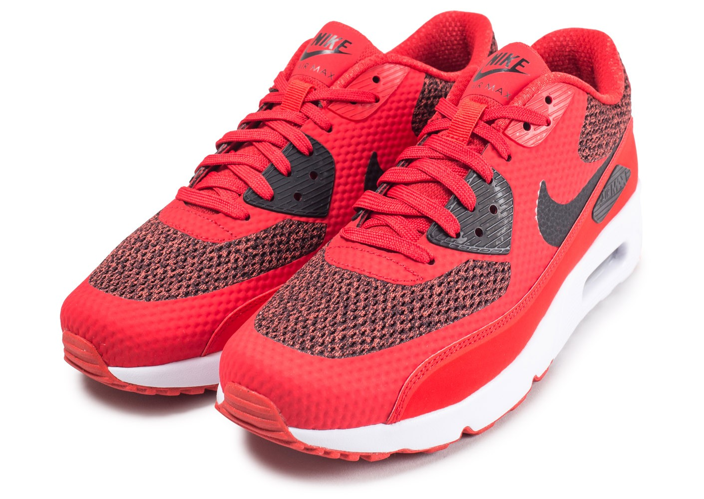 new styles 29f28 58c38 ... Chaussures Nike Air Max 90 Ultra 2.0 Essential rouge vue intérieure ...