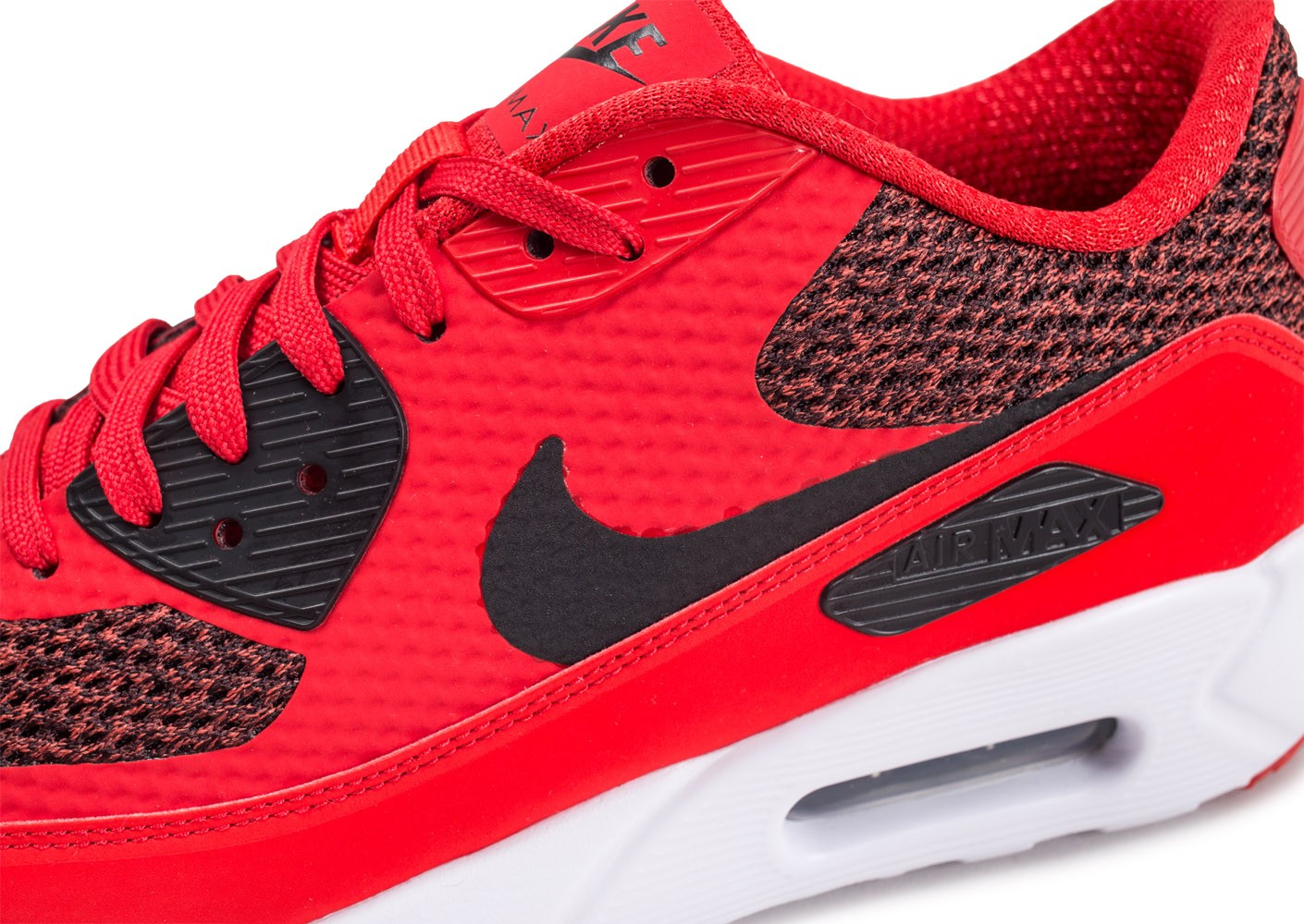 best website a629c 416ac Nike Air Max 90 Ultra 2.0 Essential rouge - Chaussures Baskets homme ...