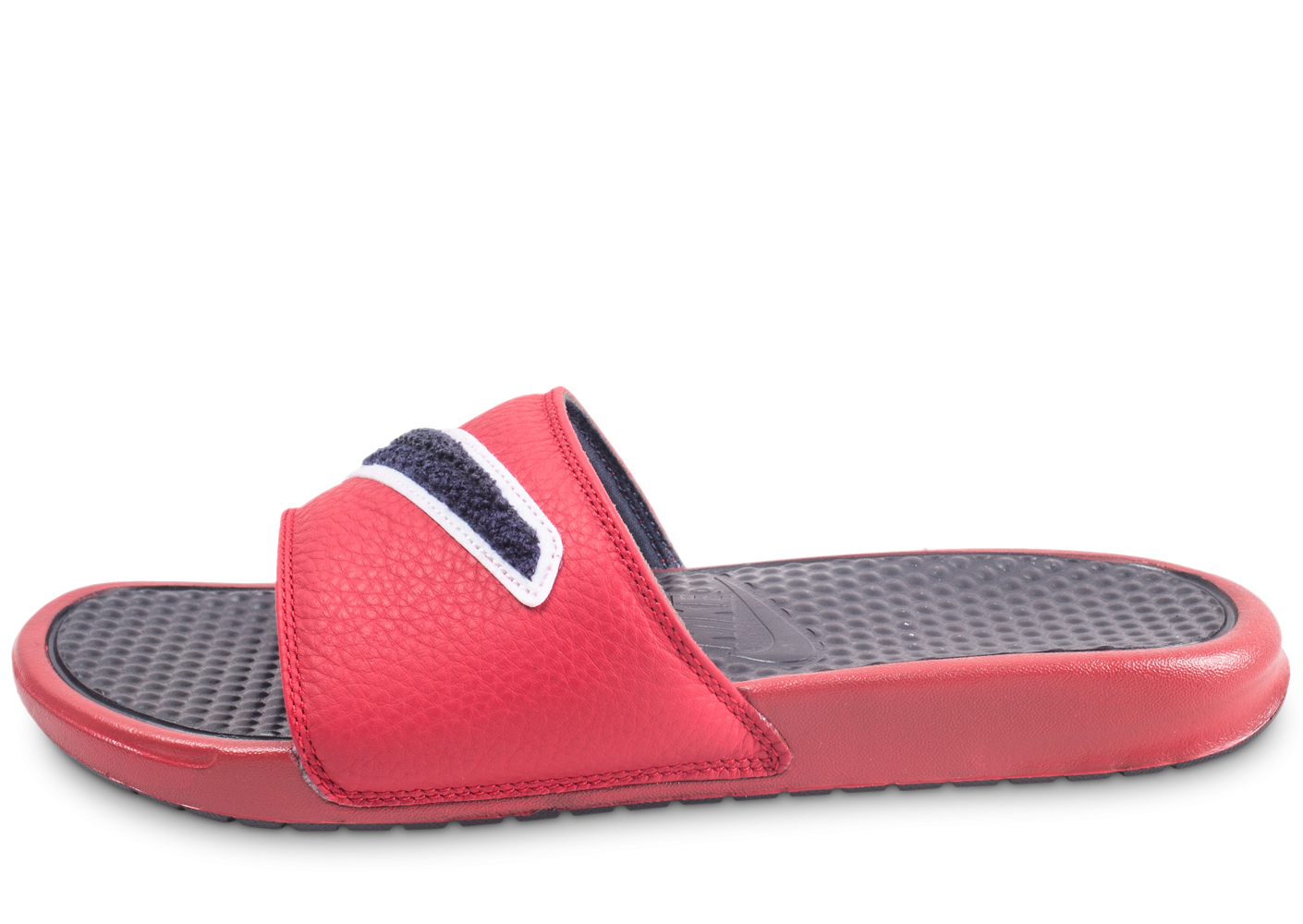 official photos 5dcde 89640 Nike Benassi JDI rouge - Chaussures Baskets homme - Chausport