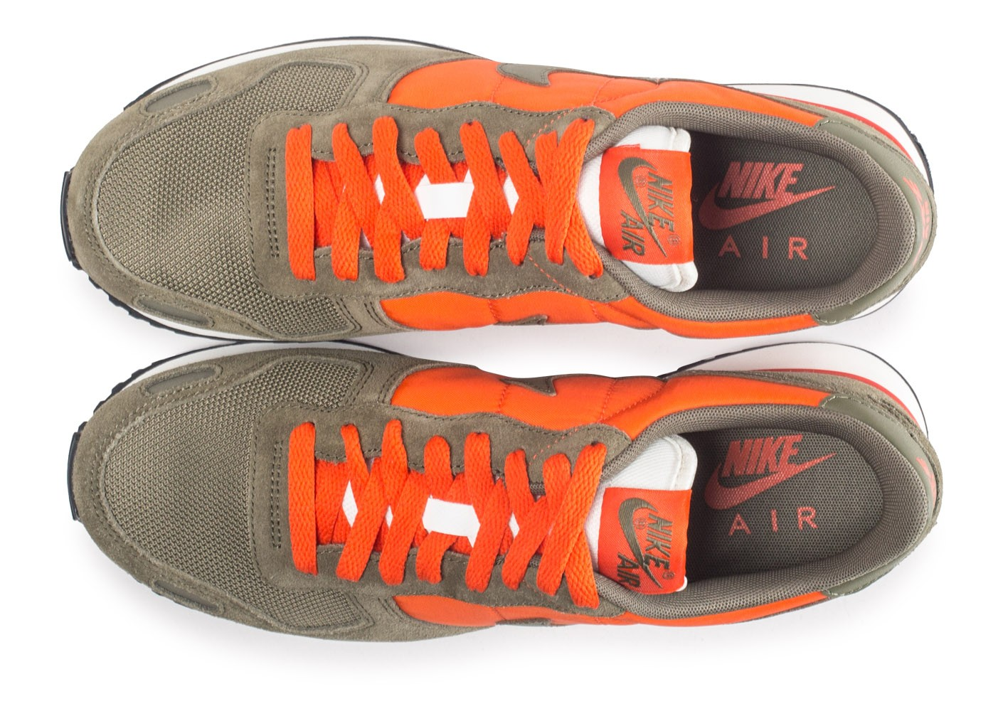 sports shoes 89893 9358c Nike Air Vortex orange et kaki - Chaussures Baskets homme - Chausport
