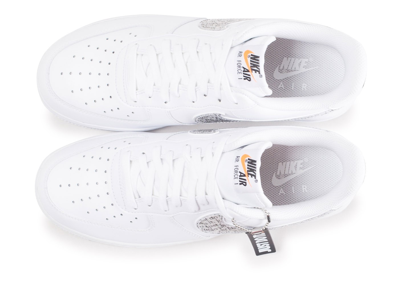 Air Baskets Force Nike '07 It Do Lv8 Chaussures 1 Just Blanche 6fyYb7g