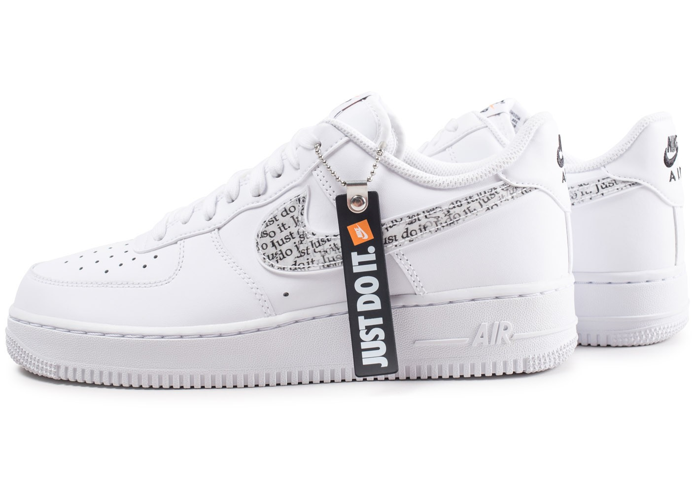 fashion united kingdom casual shoes Nike Air Force 1 '07 LV8 Just Do It blanche - Chaussures ...